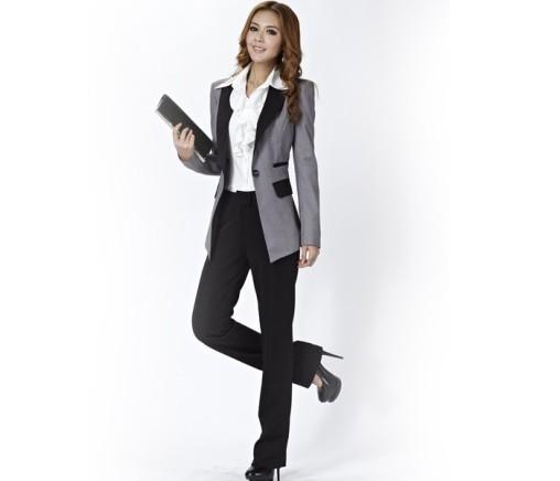 grey-and-black-color-block-designer-ladies-suits